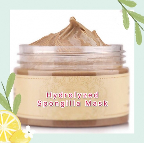 2019 hot sale high quality hydrolyzed sponge peeling mask, cream